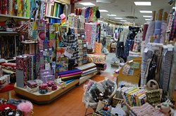 It is a state in the store. We have a lot of japanese fabrics.