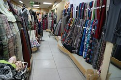 It is a state in the store. We have a lot of woolen fabrics.