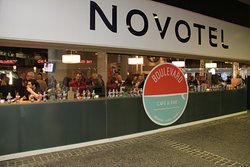 Located on the Ground floor of Novotel Surfers Paradise