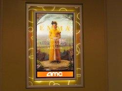Upcoming Movie Poster in Hall Way Area, AMC NewPark 12, Newark, Ca