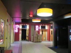 Hallway - I saw the movie in screening room five. AMC NewPark 12