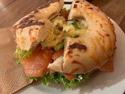 Coffee Fellows - salmon bagel