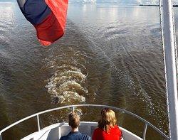 На теплоходе у озеру Ильмень