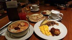 My buffet b'fast