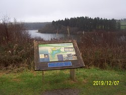 """This was taken at Wistlandpound Reservoir on the afternoon of Saturday 7th December 2019, whilst out on a tricycle ride around the reservoir with the """"Calvert Trust""""."""