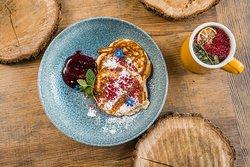 pancakes/domowa konfitura