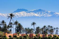 Atlas Mountain View from Marrakech