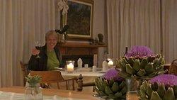 Lupus Den Country House, Addo, Südafrika, ausgezeichnetes Candlelight Dinner in festlicher Umgebung, sehr herzliche Besitzer.