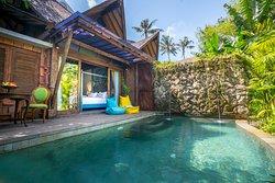 Ethnic One Bedroom Villa Private Pool