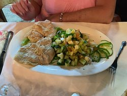 Delicious dinner at Monte y Mar