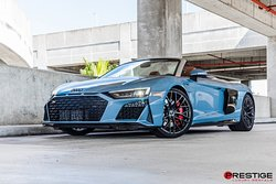 If you've ever dreamed of a sports car that's out of this world, here is your chance to drive it, the Audi R8 spider is available for rental at prestige luxuryrentals