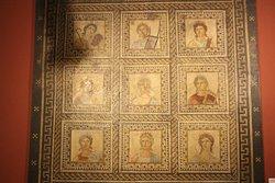 Mosaico delle Muse