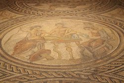 Mosaico di Bacco