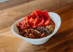 Our power yogurt bowl is wonderful for you, perfect for anytime of the day!