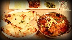 Special Lamb Curry with Naan's