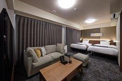 プレミアムデラックスツインルーム(8~9F)/1室のみ ※ご予約をご希望のお客様は、ホテルまでお問い合わせ下さい。