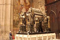 la tomba di Cristoforo Colombo