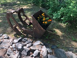 Gardens in old underground mine scoop