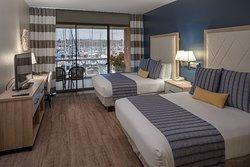Ground Floor Marina View Queen Guest Room.