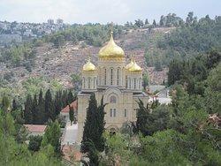 Иерусалим. Церковь Всех Святых в Земле Российской Просиявших (РПЦ МП)
