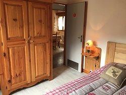 chambre 2 pers avec 1 lit double