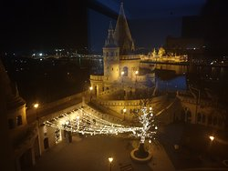The view from the room (The fishermen bastion)