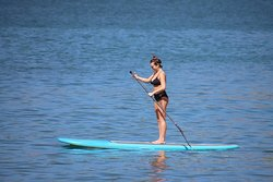 Standing paddle boards available