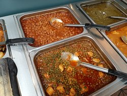 Great Indian Buffet Short Drive from Amtrak Station