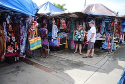 Pop-up trap local merchant stalls