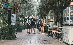 Eden Garden is the place to be on the weekend, Phnom Penh's only open air mall in the heart of the city with great entertainment and food to keep your family and friends having a fun time for hours on end.