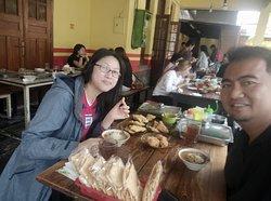 Breakfast in Bandung with Fajar