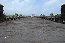 View from the top of Central tower at Cellular Jail
