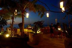Abendstimmung Restaurant