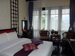 Prima hotel in een mooie omgeving.