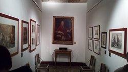 Particolari all'interno del museo napoleonico