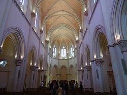 La nef de l'église du Thabor