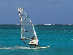 Sports activities on the Boca del Rio beachfront