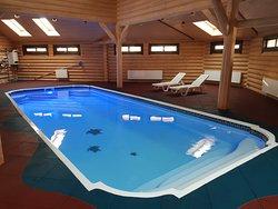 Банный комплекс с бассейном