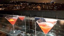 view from roof top bar/terrace