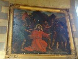 Un des quatorze tableaux du chemin de croix