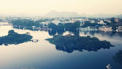 view of lake pichola from jalsa