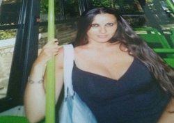 Valentina Venturi sulla circolare che da Fiuggi Fonte porta su a Fiuggi Alta