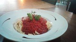 Spaghettis bolo