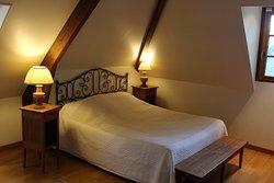 La Ferme Chevalier, room «Calville»   Equemauville, Normandy, France