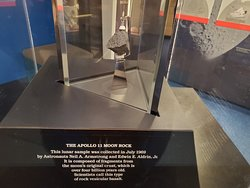 The Apollo 11 Moon Rock