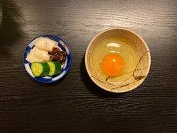 Pickles, Raw egg