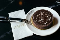 Our famous Salted Caramel Chocolate Tart. A must try!