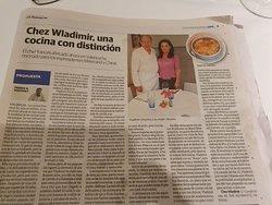 """Un très bel article dans """"Las Provincias"""""""