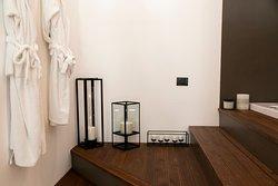 jacuzzi king bath, Romantic Loft