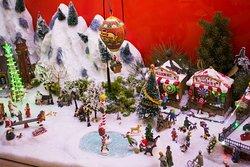 Detalles de un puesto de Navidad en CC Biosfera Plaza
